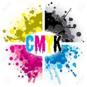 مدل رنگی CMYK